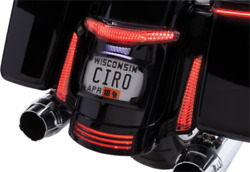 Ciro 40054 Taillight And License Plate Mounts Black