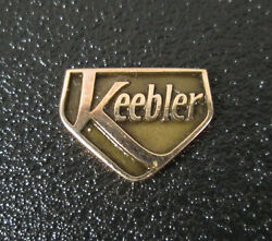 Vintage Solid 10k Gold Keebler / United Brand Service Award Pin By Tanner Cto
