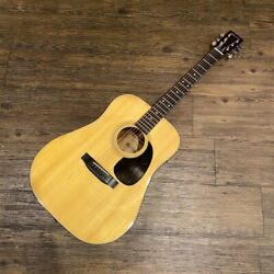 Morris W-15 Natural Acoustic Guitar 1975-78 Made In Korea Shipped From Japan