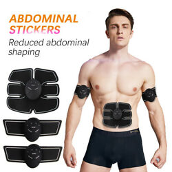 Abdominal Hip Trainer Body Electric Muscle Stimulator Buttocks Abs Gym Exercise
