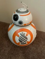 Spin Master Star Wars Bb-8 Fully Interactive Hero Droid W/ Remote Charger Box