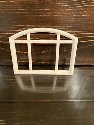 2006 Mattel Replacement Upper Window For Barbie Doll Dream Dollhouse House