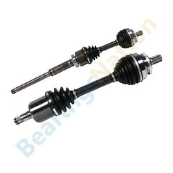 Pair Front Cv Axle Joint Assembly For Volvo S60 V70 S80 Awd 2.5l Turbo 2003-09