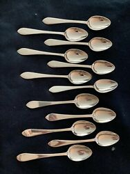 And Co. Faneuil { 12 } 6 Inch Matching Oval Spoons No Mono And Pro-polished