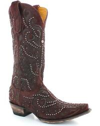 Old Gringo Womenand039s Rowan Hair-on-hide Studded Boot - Snip Toe - L2981-2