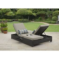 Sofa Outdoor Double Lounger Beach Pool Whether And Water Resistant Double Sofa