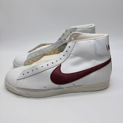 Nike Lambert Vintage High Top Game Shoes Newwhite Red Size 14 190523