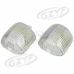 Clear Front Turn Signals Cover Lens Shell For Yamaha Yzf R1 R6 Yzf600r 1998-2001