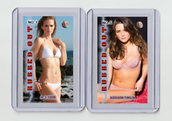 A. J. Cook Rare Mh Rubbed Out 'd 1/3 Tobacco Card No. 1