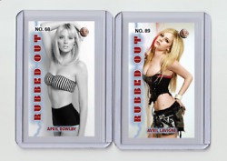 April Bowlby Rare Mh Rubbed Out 'd 1/3 Tobacco Card No. 68