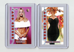 Cheryl Ladd Rare Mh Rubbed Out 'd 1/3 Tobacco Card No. 162