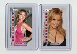 Claire Holt Rare Mh Rubbed Out 'd 1/3 Tobacco Card No. 175
