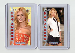 Blake Lively Rare Mh Rubbed Out 'd 2/3 Tobacco Card No. 112