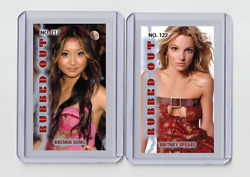 Brenda Song Rare Mh Rubbed Out 'd 1/3 Tobacco Card No. 117