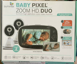 Summer Infant 30553 Summer Baby Pixel Zoom Hd Duo 5.0 High Definition Video