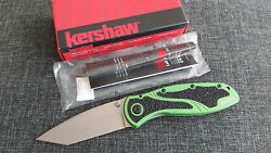 Kershaw 1670grnbdz Blur Assisted Folding Knife Rare Discontinued