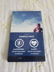 Truvision Sample Pack 30 Dietary Supplement Capsules Trucontrol Trufix