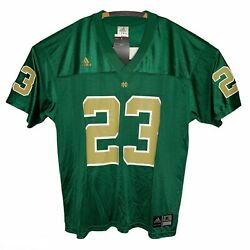 Adidas Mens Green Nd Golden Tate 23 Authentic Football Jersey Size Xl