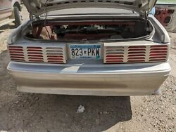 Tail Lights Taillight Convertible 1979-93 Mustang Gt Ford 5.0 87 89 90 1987 1993