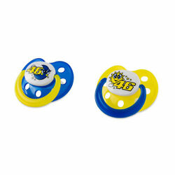 Vr46 Sun And Moon Baby Dummy Set Blue / Yellow - 6-18 Months