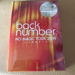 Back Number No Magic Osaka Castle Hall 2dvd First Edition