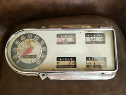 1948 To 1950 Ford Truck F1 Instrument Cluster Speedometer Oem