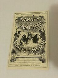 Varney The Vampire Book Screen Used Prop In The Showtime Series Penny Dreadful
