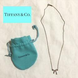 And Co Necklace Ribbon Silver Accessories