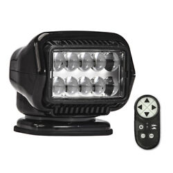 Golight Stryker St Series Portable Magnetic Base Black Led W/ Wireless Remote