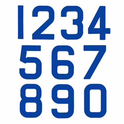 Replacement Optimist Sail Numbers - Class Legal - Blue 0