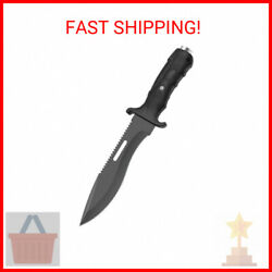 Ultimate Extractor Bowie Survival Knife Black 1