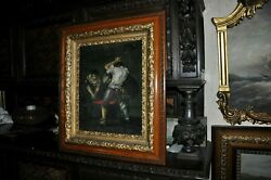 Great Antique Working Craftsman In Action Signed Lambardo