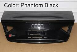 10 11 12 13 14 15 16 Audi S5 Cabriolet B8 - Convertible Trunk / Deck Lid Shell