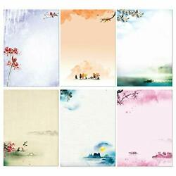 Stationary Set Japanese Stationery Letter Writing Paper 48 Pack Stationary Pa...