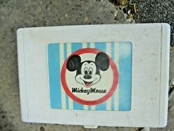 Vintage Mickey Mouse Childrens Record Player  Model 171.29150600