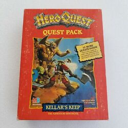 Heroquest Kellerand039s Keep 4111 Complete Expansion1989 Unplayed/unpunched Ex+/nm