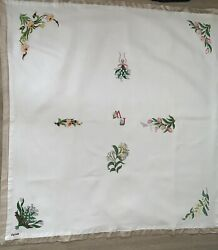 Germany Tablecloth Lined With Rayon