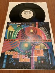 Vg Us Air Force Band Rock Group Mach One Together Lp Af-52079 Lp Military