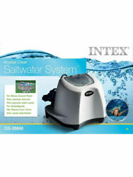 Intex Krystal Clear Saltwater System 26668 With Electrocatalytic Oxidation - New
