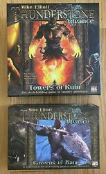 Thunderstone Advance Game With Caverns Of Bane Expansion And Siege Board
