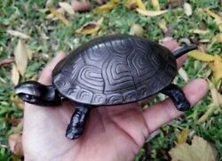 Antique Turtle Germany Mechanical Hotel Bell Cast Iron Working