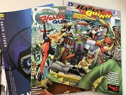 Harley Quinn Lot Of Specials Comic-con Convergence Etc Lot Of 9