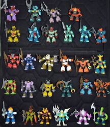 Battle Beast Complete Series 1-3 Complete Rubs And Weapons With Mail In Poster