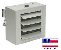 Unit Heater - Steam And Hot Water Commercial - Fan Forced - 63000 Btu - 115 Volt