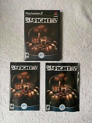 Def Jam Fight For Ny Playstation 2 2004 -complete Cib Mint Discblack Label