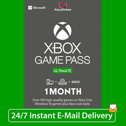 1 Month Xbox LIVE GOLD Game Pass Ultimate EA Access 2 x 14 Day INSTANT
