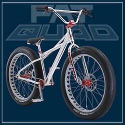 Fat Quad 26 2021 Se Bikes Silver Bmx New In Box Sold Out Pk Ripper Mike Buff