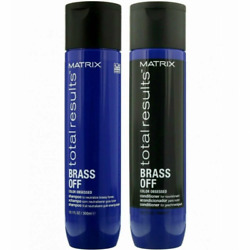Matrix Total Results Brass Off Color Obsessed Shampoo And Conditioner Duo
