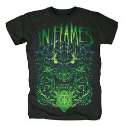 In Flames Hatred Connected Shirt S M L Xl Xxl Officl T-shirt Metal Band Tshirt
