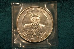 Babe Ruth Hall Of Famer 1 Oz .999 Silver